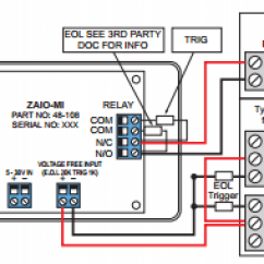 Zeta Addressable Fire Alarm Wiring Diagram For Rear Fog Lights Ziou Input Output Unit Switching Low Voltage Zaio